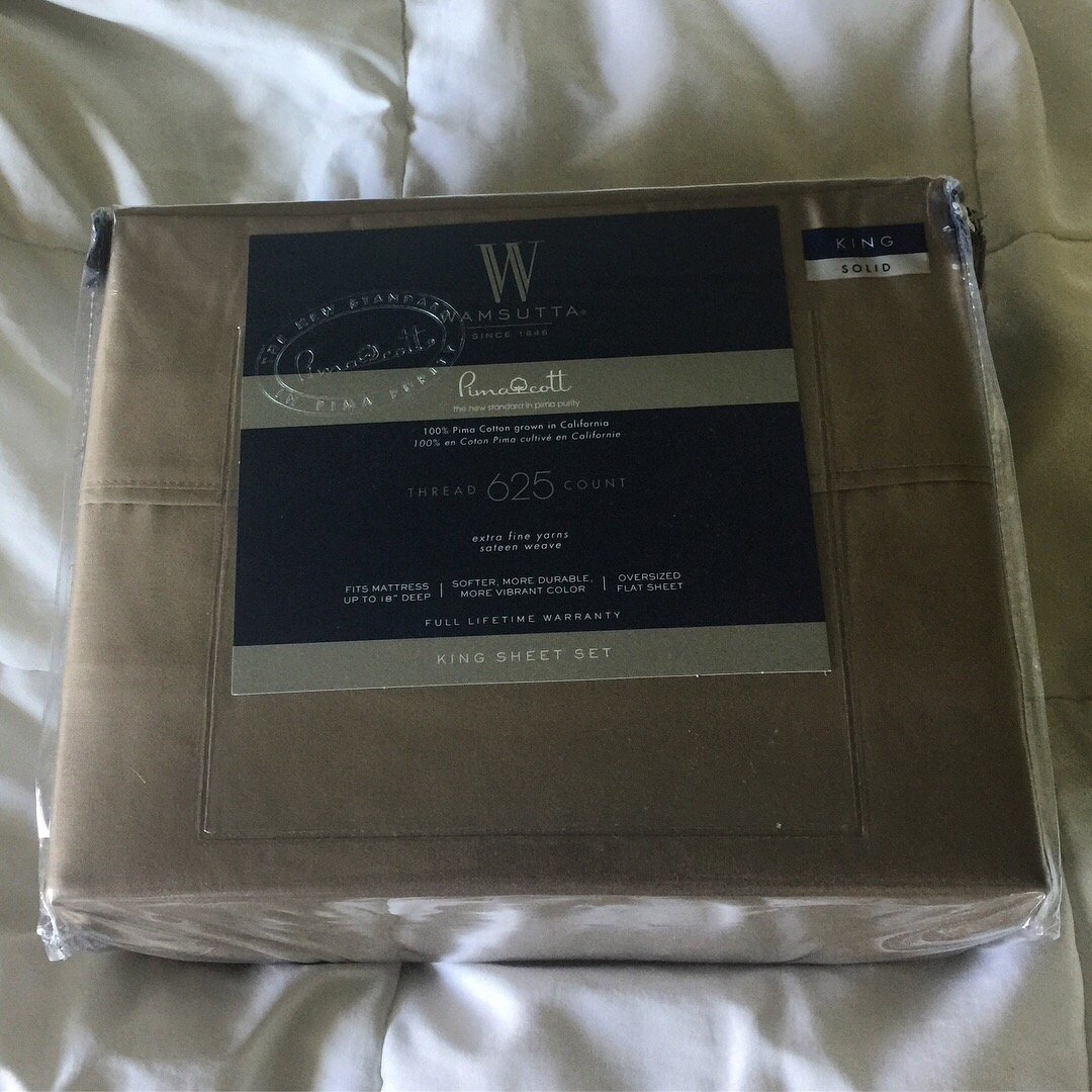after a couple days of use i can say that iu0027m in love with these sheets 625 thread count king size king pillow cases which is logical but not all sets - Wamsutta Sheets